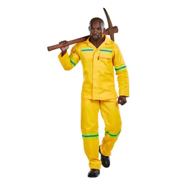 Dromex J54 Reflective Mining Spec Conti Suit