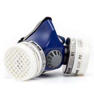 DH102 Twin Filter Half Mask Respirator