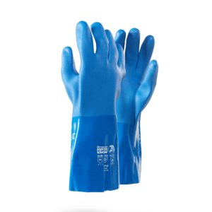 Dromex Viper PVC Chemical Gloves Chemical Hand Protection