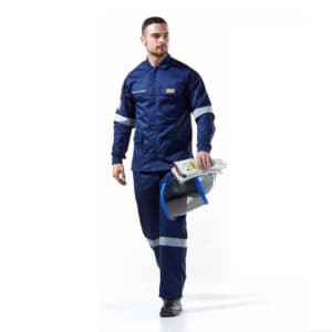 Dromex 15 cal Arc Flash Suit Navy Blue Electrical Arc Flash PPE