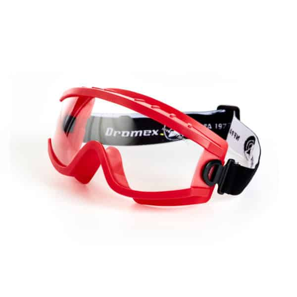 Dromex Wildland Fire Fighting Goggles Fire Retardant PVC