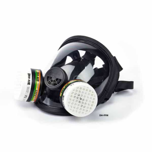 Dromex Full Face Mask Chemical Mask Respirator