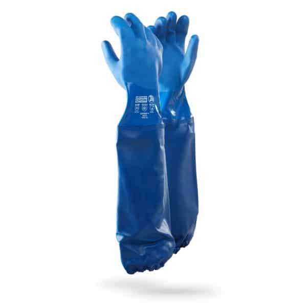 Dromex Viper Plus PVC Chemical Gloves Shoulder Length