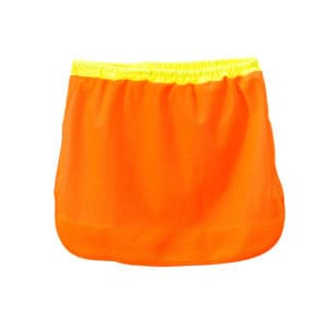 Dromex Hi Vis Sun Neck Protector Fluorescent Orange with Reflective tape