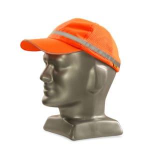 Dromex Reflective Baseball Cap Fluorescent Orange