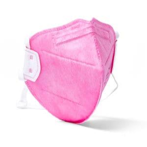 Disposable flat fold mask