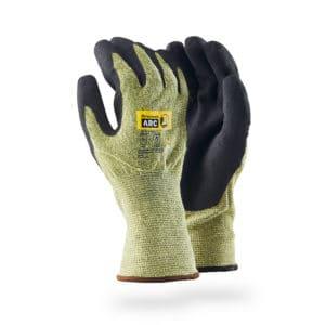 Dipped arc flash glove