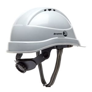 Dromex Hard Hat Grey Safety Helmet Head Protection